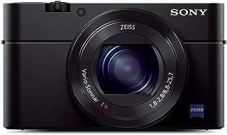 سوني سايبر شوت RX100 III كاميرا بوينت اند شوت- 20.1 ميجابيكسل، اسود