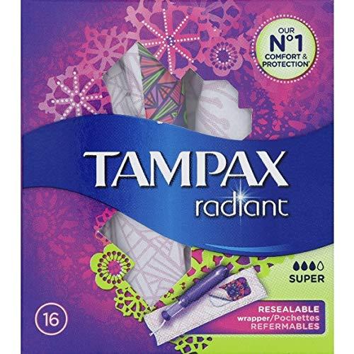 Tampax Platinum Super Sello con aplicador 16