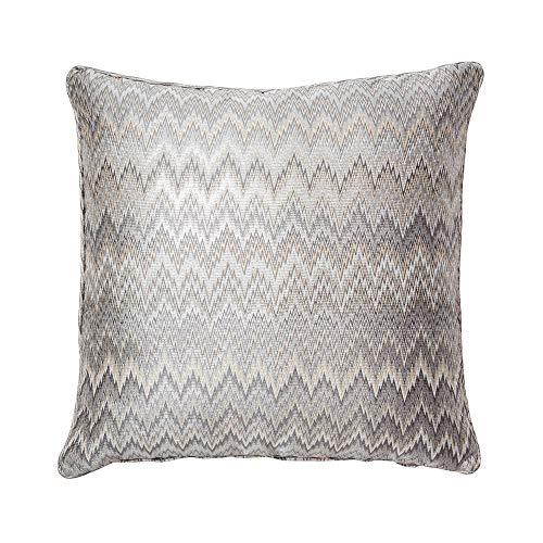 Metallic Zig Zag Pillow