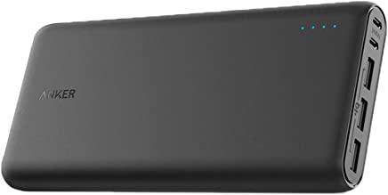 Anker PowerCore 26800mAh Power Bank with Dual Input Port Black