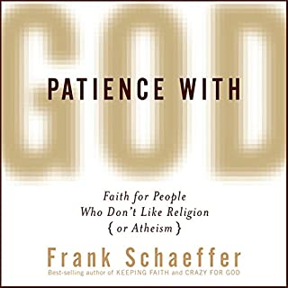 Patience with God audiobook cover art