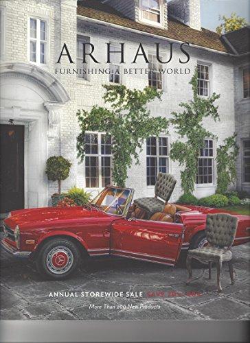 Arhaus, Furnishing a Better World, Annual Storewide Sale, Catalogue