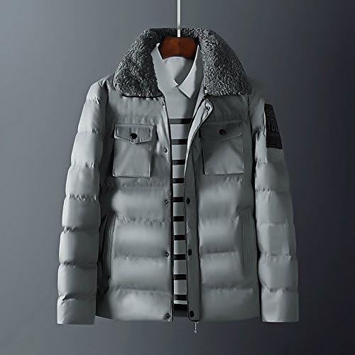 Vjibmt Manteau d'hiver pour Les Hommes, Pardessus pour Hommes, Manteau pour Adolescents, Manteaux pour Hommes,armée vert,XL