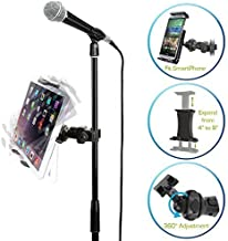 Accessory Basics EasyAdjust cymbal Microphone Mic Stand Tablet Mount for Apple iPad PRO..
