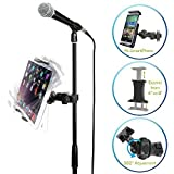 Accessory Basics EasyAdjust cymbal Microphone Mic Stand Tablet Mount for Apple iPad PRO Air Mini...
