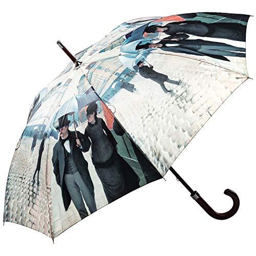 Regenschirm Stockschirm Kunst Motiv Rainy Day IN Paris