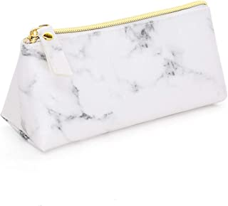 Bageek Cosmetic Bag Fashion Marble Pattern Zipper Travel Makeup Pouch Makeup Bag for Travel