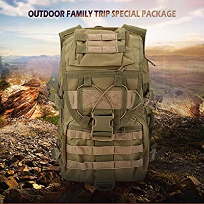 Alisy Outdoor Backpack, Large Sports Bag Backpacks Rucksacks for Outdoor Hiking Camp