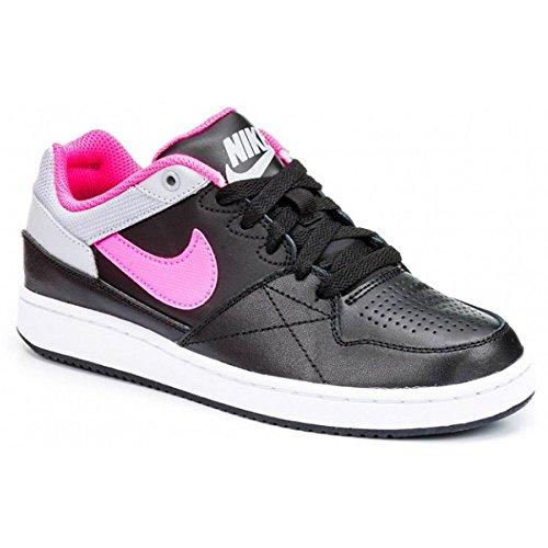 Nike Mädchen Priority Low GS Basketballschuhe, Schwarz/Rosa/Grau (Black Pink Pow Wolf Grey), 38 EU