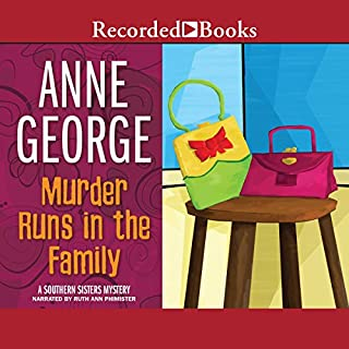 Murder Runs in the Family audiobook cover art