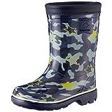 [ムーンスター] <取寄 滑りにくいチャイルドレインブーツ 子供靴 レインブーツ MS RB C65 日本製 キッズ 長靴 ネイビー13110125 15.0cm