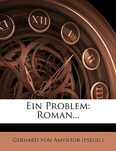 Ein Problem: Roman...