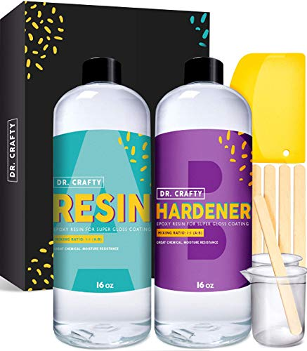 DR CRAFTY Clear Epoxy Resin Kit