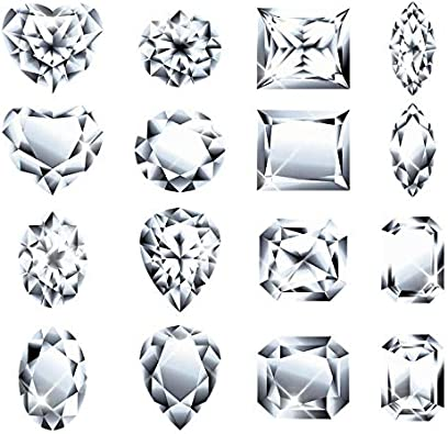 Brilliant Alternative to Manmade Diamond and Synthetic Diamond Pendants 0.55ct - 3.0ct Dew Ring San Moissan Moissanite Loose Stone DEF-GH Oval 6x4mm Earrings 10x8mm for Jewelry