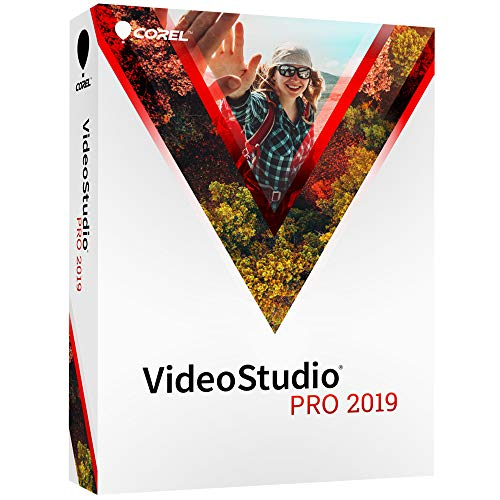 Corel VideoStudio Pro 2019 - Video Editing Suite [PC Disc]