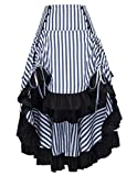 Women Plus Size Gothic Victorian Steampunk Skirt Renaissance Costume BP345-1 4X