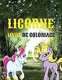 LICORNE LIVRE DE COLORIAGE