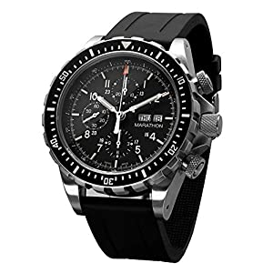 MARATHON WW194014 Swiss Made Military Chronograph Pilot's Automatic Watch with Tritium Prices and For Sale and review