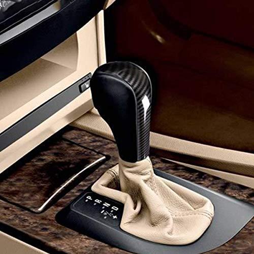 YIWANG In Fibra di Carbonio Stile Auto Centro Cambio Testa Copertura Trim Per E39 E60 E61 E83 E53 E46 Accessori Auto (non per E61 5 Series Berlina)