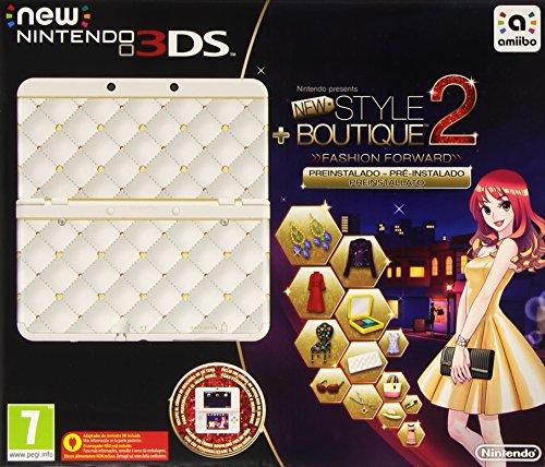 NEW nintendo 3ds–Console, Blanc + New Style Boutique 2: Marche tendances (préinstallé)