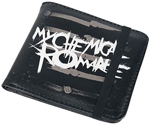 My Chemical Romance Wallet Black Parade Band Logo Official Black Bifold