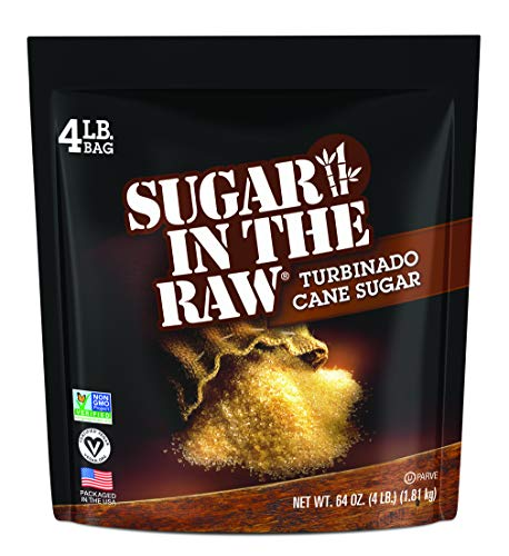 Sugar In The Raw, 4-Pound Bag