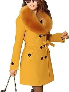 Best faux fur coat yellow Reviews
