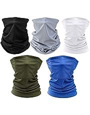 Multifunctionele hoofddeksels Bandana Sjaal - Elastische Tube Sjaal Gezicht Shield Hoofdband Snood UV Resistentie voor Buitenshuis Sport Yoga Running Wandelen Fietsen