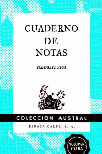 Cuaderno de notas azul 9x14cm (AUSTRAL EDICIONES ESPECIALES)