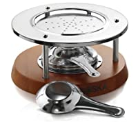 ボスカ チーズフォンデュストーブ(台) 液体固体燃料両方可 Boska Holland Fondue Stove Base for 1 Liter Round Fondue Pots 85-35-37
