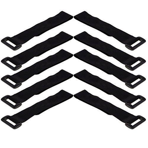 #N/A 10 unidades de correas de velcro de nailon, cable de fijación,...