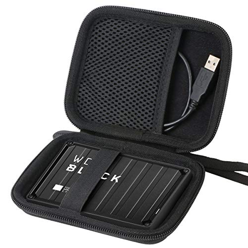 Aenllosi Hard Carrying Case for Western WD Black 1TB 2TB 4TB 5TB P10 Game Drive Portable External Hard Drive