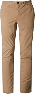 Men's Garment Dyed Slim Fit Flat Front Chino Pants