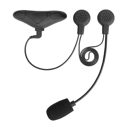 Avantree [2018 Version] Kit Moto Bluetooth Casque Micro ÉTANCHE avec Micro pour Motards, Supporte Les Appels Mobiles, GPS (Tomtom Navigation), Musique, Intercom - HM100PS