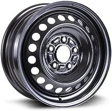 RTX, Steel Rim, New Aftermarket Wheel, 15X6, 5X114.3, 64.1, 45, black finish X40922