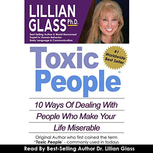 Toxic People audiobook cover art