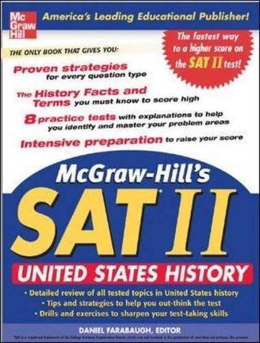 McGraw-Hill\'s SAT Subject Test: United States History (McGraw-Hill Education SAT Subject Test U.S. History)