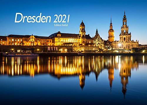 Edition Seidel Premium Kalender Dresden 2021 DIN A3 Wandkalender Deutschland