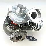 Gowe Turbo Turbocompresseur pour GT1749V 750431 pour BMW 120D, 320D E46,520D Moteur : M47TU 2.0L 147HP 150HP