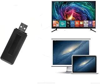 Velidy USB TV Wireless Wi-Fi Adapter,802.11ac 2.4GHz and 5GHz dual-band Wireless Network USB Wifi Adapter for Samsung Smar...