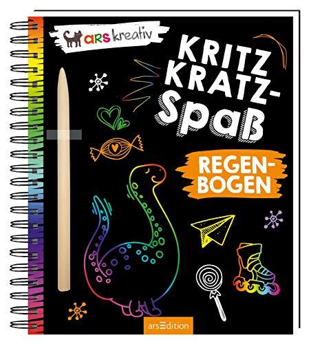 Kritzkratz-Spaß Regenbogen