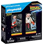 PLAYMOBIL 70459 Back to The Future Marty McFly and Dr. Emmett Brown future Apr, 2021