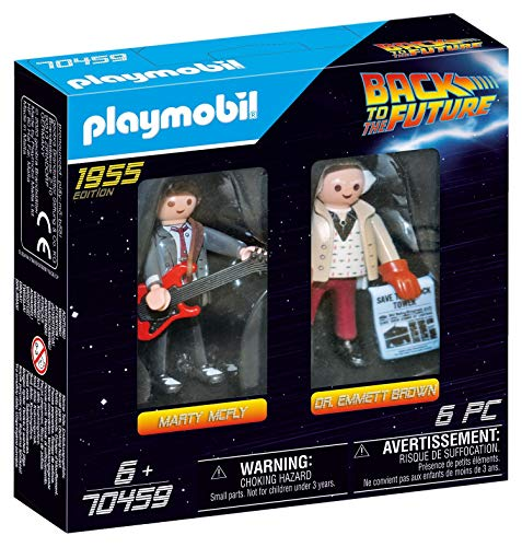 PLAYMOBIL  70459 Back to the Future Marty Mcfly und Dr. Emmett Brown, ab 6 Jahren