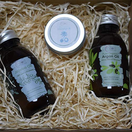 Pearl Natural Oils - Juego de regalo para el cabello