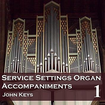 Service Settings, Vol. 1 (Organ Accompaniments)