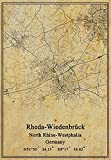 Leinwanddruck, Motiv: Deutschland, Rheda-Wiedenbrück,