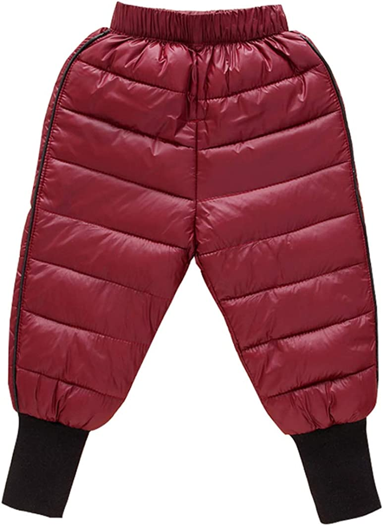 Happy Cherry Baby Fixed price 5 popular for sale Boys Girls Warm Thicker Lightweight Down Pants