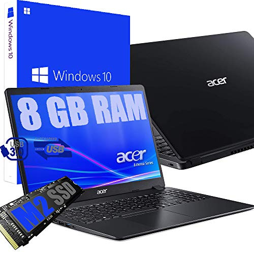 "Notebook Pc Portatile Acer Display 15.6"" HD /Cpu Amd A4 da 1,5ghz A 2,3GHz /Ram 8Gb ddr4 /SSD M2 256GB /Vga Radeon R3 / Hdmi / Wifi Bluetooth /Licenza Windows 10 pro + Open Office"