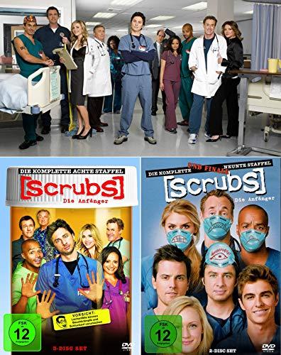Scrubs: Die Anfänger - Die komplette 8. + 9. Staffel (5-Disc / 2-Boxen)