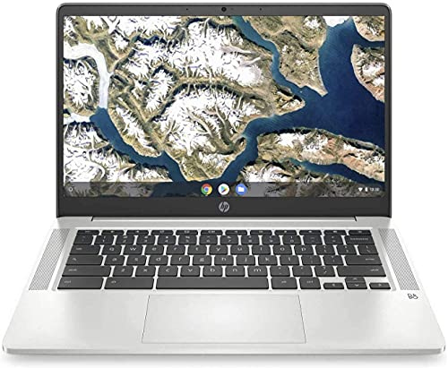 "HP Chromebook - 14a-na0023cl Everyday Value Laptop (Intel Celeron N4000 2-Core, 4GB RAM, 64GB eMMC, Intel UHD 600, 14.0"" Full HD , WiFi, Bluetooth, Webcam, 1xUSB 3.1, Chrome OS) (Renewed)"